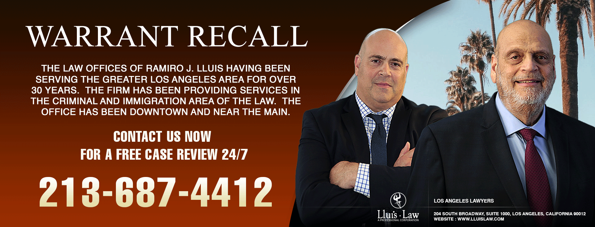 los angeles warrant recall lawyers
